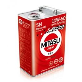 MJ-116 MITASU RACING MOTOR OIL SN 10W-60 100 % SYNTHETIC4L