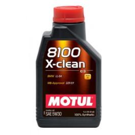 Olej MOTUL 8100 X-CLEAN C3 5W-30