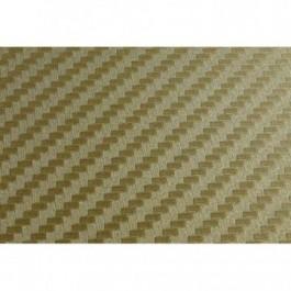 Folia Carbonowa Gold 100x127 cm
