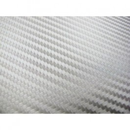 Folia Carbonowa Silver 100x152 cm