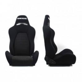 Fotel sportowy DRAGO BRIDE BLACK materiał