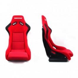 Fotel sportowy EVO BRIDE RED