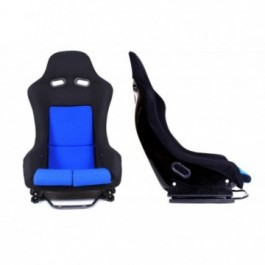 Fotel sportowy GTR BLUE