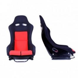 Fotel sportowy GTR RED