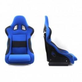 Fotel sportowy RICO MATERIAŁ BLUE
