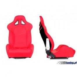 Fotel sportowy TURISMO RED