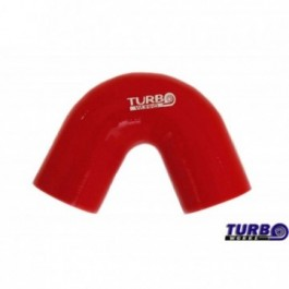 Kolanko 135st TurboWorks Red 76mm