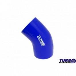 Kolanko 45st TurboWorks Blue 102mm