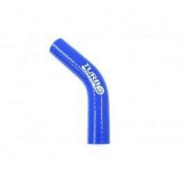 Kolanko 45st TurboWorks Blue 18mm XL
