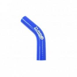 Kolanko 45st TurboWorks Blue 28mm