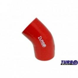 Kolanko 45st TurboWorks Red 102mm