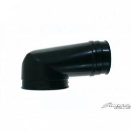 Kolanko 90st 76/105mm Czarne Fiat