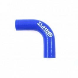 Kolanko 90st TurboWorks Blue 28mm