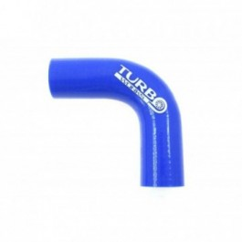 Kolanko 90st TurboWorks Blue 28mm XL