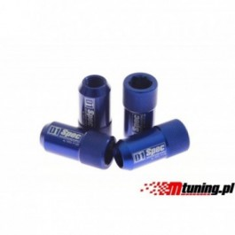 Kute nakrętki D1Spec HEX 1.25 blue