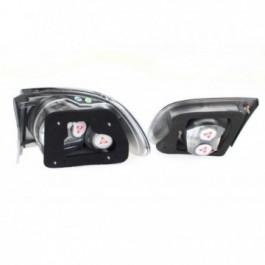 Lampy Honda Civic 92-95 Tył Lexus Black Sonar