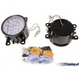 Lampy LED do jazdy dziennej halogen 9cm