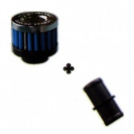 Moto Filtr stożkowy SIMOTA 20 mm Blue