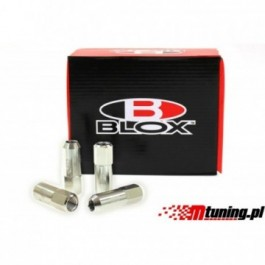Nakrętki Blox Replica 60mm M12x1.25 Silver