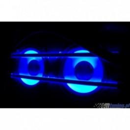 Neony EL STRIP 21 cm - niebieskie (2 szt)
