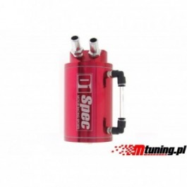 OIL CATCH TANK D1 SPEC 15mm RED