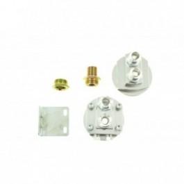 Oil Relocation Kit Epman AN8 Silver