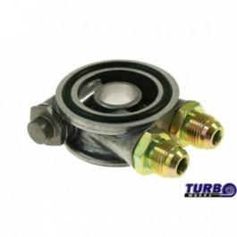 Podstawka pod filtr oleju M22x1,5 z termostatem