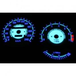 Podświetlane tarcze indiglo BMW E30 85-92