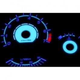 Podświetlane tarcze indiglo BMW E36 220km/h