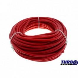 Przewód podciśnienia silikonowy TurboWorks Red 4mm