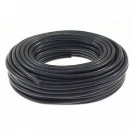 Przewód podciśnienia silikonowy zbrojony TurboWorks PRO Black 20mm