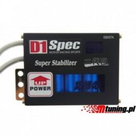 Stabilizator napięcia D1Spec z wyświetlaczem Black