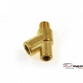 Adapter Czujnika Ciśnienia Temperatury Oleju Y 1/4-18NPT