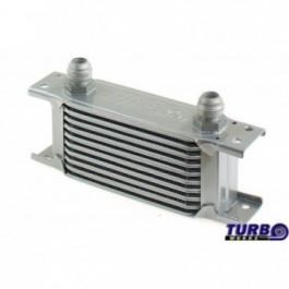 Chłodnica Oleju TurboWorks Slim Line 10-rzędowa 140x75x50 AN8 silver