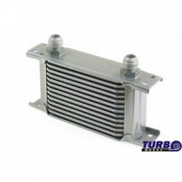 Chłodnica Oleju TurboWorks Slim Line 13-rzędowa 140x100x50 AN8 silver