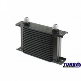Chłodnica Oleju TurboWorks Slim Line 16-rzędowa 140x125x50 AN8 black