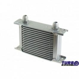 Chłodnica Oleju TurboWorks Slim Line 16-rzędowa 140x125x50 AN8 silver