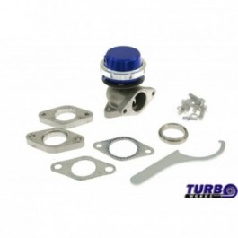 Wastegate zewnętrzny TurboWorks 38mm 1,0 Bar Blue
