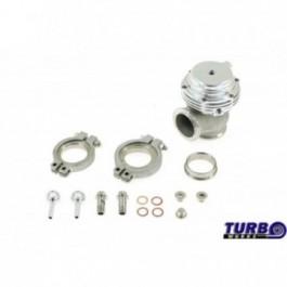 Wastegate zewnętrzny TurboWorks 38mm 1,0 Bar Silver V-Band