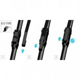 Wycieraczka płaska 650 mm (zaczep 12 mm)