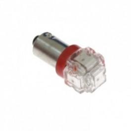 Żarówka LED BA9S-5W-FLUX Czerwona