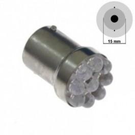 Żarówka LED G18.5-15S(D)-9LED Czerwona