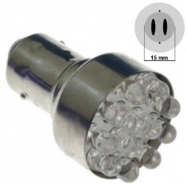 Żarówka LED S25-15S(D)-12LED Biała