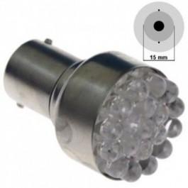 Żarówka LED S25-15S(D)-19LED Żółta