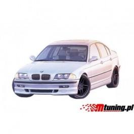 Dokładka PU Przód BMW E46 98-01 4D Typ 3