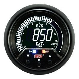 ZEGAR AUTO GAUGE EVO PEAK 60mm - EXHAUST TEMP