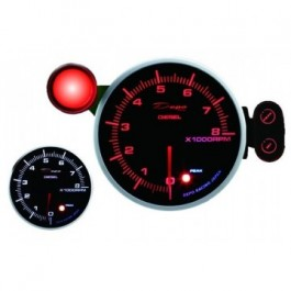 ZEGAR DEPO seria PK 115mm Obrotomierz 8000 Diesel