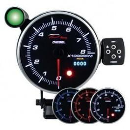 Zegar DEPO seria PK DUAL 115MM Obrotomierz Diesel