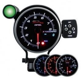 Zegar DEPO seria PK DUAL 95MM Obrotomierz Diesel