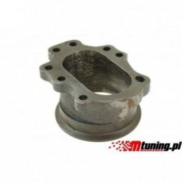 """Downpipe T25 T28 GT25 GT28 8 śrub na 3"""" V-Band"""
